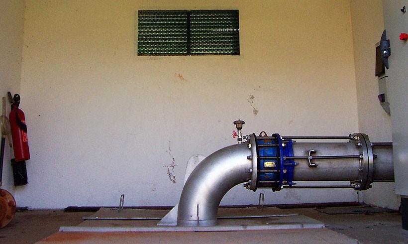 Les travaux de modernisation de nos ouvrages hydrauliques se poursuivent …